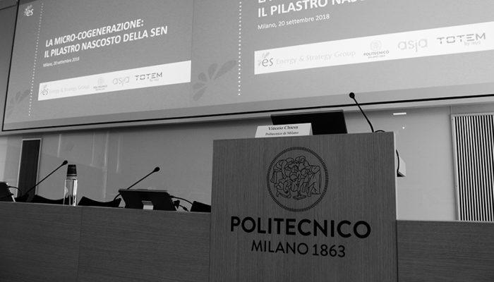 Micro Cogenerazione Politecnico Milano